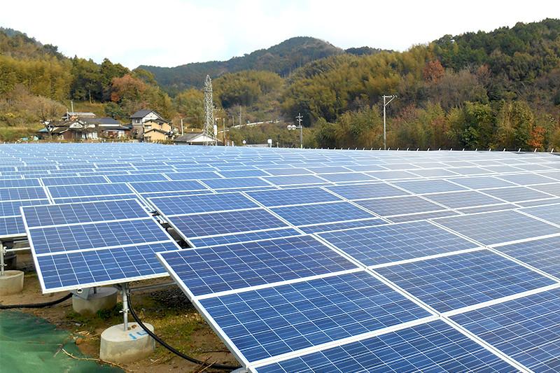 福岡県田川郡第一発電所(赤村)